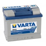 АКБ 60Ah 540A (Din) VARTA 560127BD