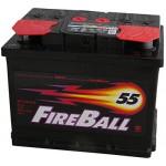 АКБ 55Ah 420A (Din) Fire Boll Premium 6Ст-55  класік