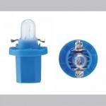 Лампочка BAX 12V 1.2W BAX8,5d/1,5 blue Philips